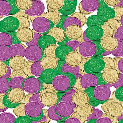 Mardi Gras Coins 400ct