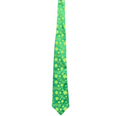 St. Patrick's Day Shamrock Tie