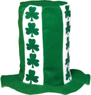 Tall St. Patrick's Day Top Hat