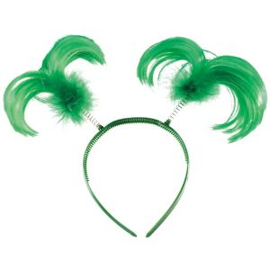 Green Feather Head Bopper