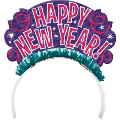 Colorful New Year's Tiara