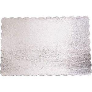 Silver 14in x 21in Cake Board