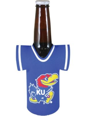 Kansas Jayhawks Jersey Bottle Coozie