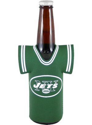 New York Jets Jersey Bottle Coozie