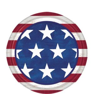 Americana Dessert Plates 50ct