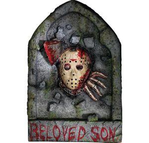 Bloody Jason Voorhees Tombstone