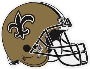 New Orleans Saints Helmet Pennant
