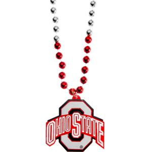 Ohio State Buckeyes Pendant Bead Necklace