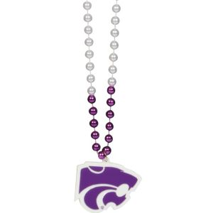 Kansas State Wildcats Pendant Bead Necklace
