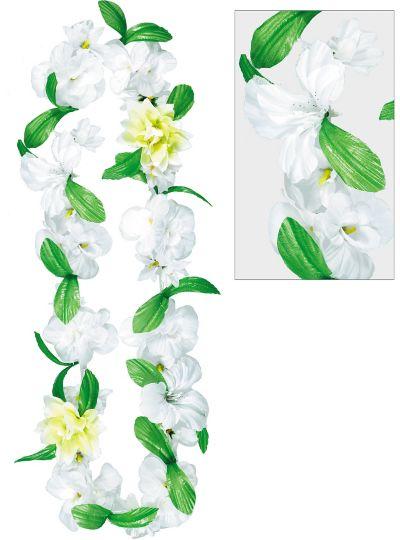 White Celebration Flower Lei