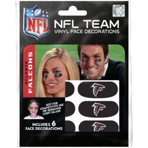Atlanta Falcons Eye Black Stickers 6ct