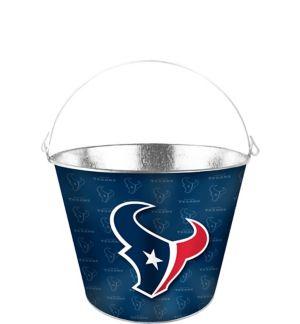 Houston Texans Galvanized Bucket