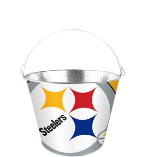 Pittsburgh Steelers Galvanized Bucket