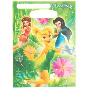 Tinker Bell Favor Bags 8ct
