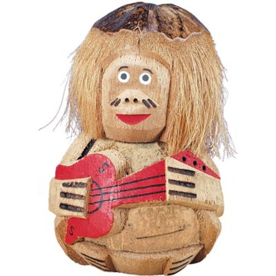 Coconut Guitar Man Decoration