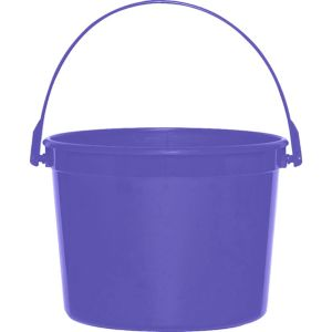 Purple Favor Container