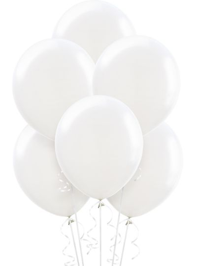 White Balloons 15ct