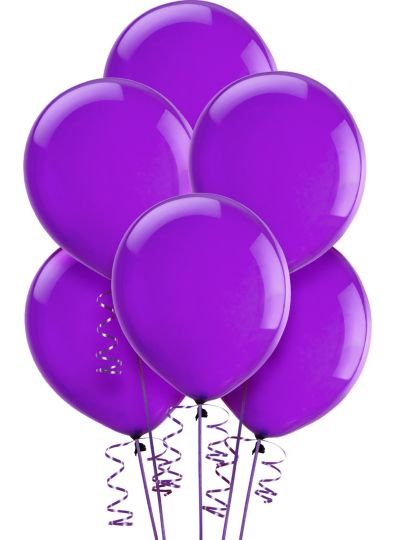 Violet Balloons 15ct