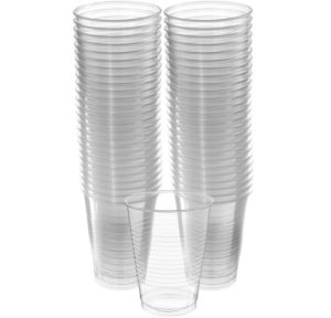 BOGO CLEAR Plastic Cups 16oz 50ct