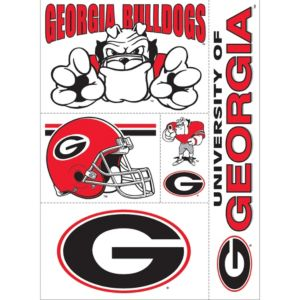 Georgia Bulldogs Decals 5ct