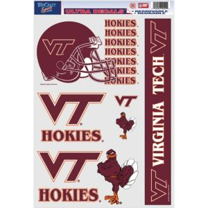 Virginia Tech Hokies Decals 5ct