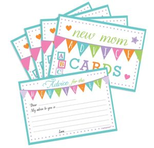 New Mommy Advice Cards 24ct