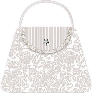 Handbag Large Invitations 8ct