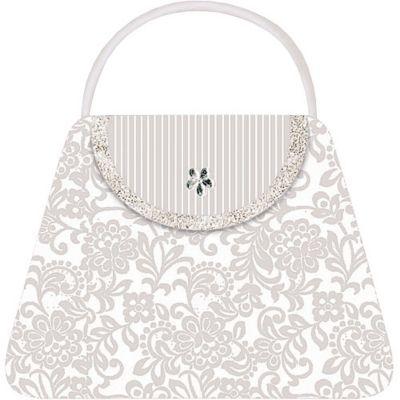 Handbag Large Invitations 8ct