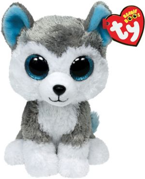 Slush Beanie Boo Husky Dog Plush