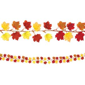 Fall Autumn Leaves Garland