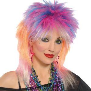 Punky Pop Rock Wig
