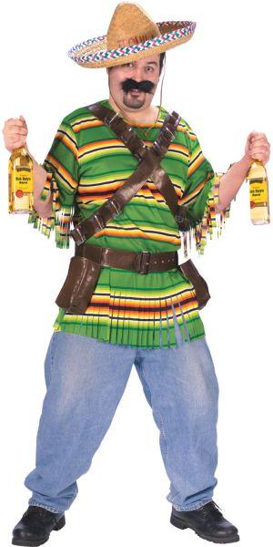 Adult Tequila Pop Dude Costume Plus Size