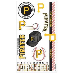 Pittsburgh Pirates Tattoos 10ct