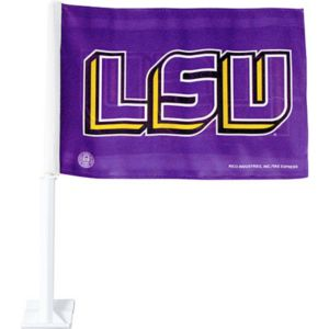 Louisiana State Tigers Car Flag