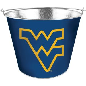 West Virginia Mountaineers Galvanized Bucket