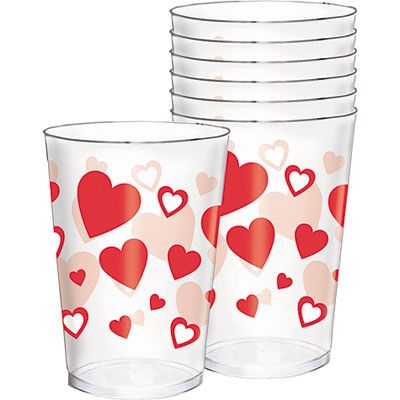 Valentine's Day Tumblers 30ct
