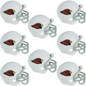 Arizona Cardinals Helmets 8ct