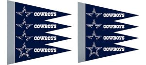 Dallas Cowboys Pennants 8ct