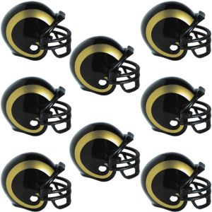 Los Angeles Rams Helmets 8ct