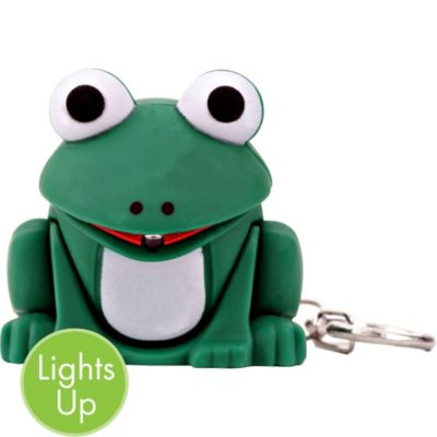 Light-Up Frog Keychain