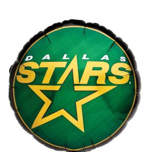 Foil Dallas Stars Balloon 18in