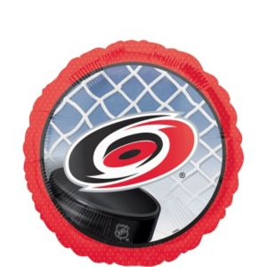 Foil Carolina Hurricanes Balloon 18in