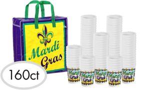Mardi Gras Throw Cups 160ct