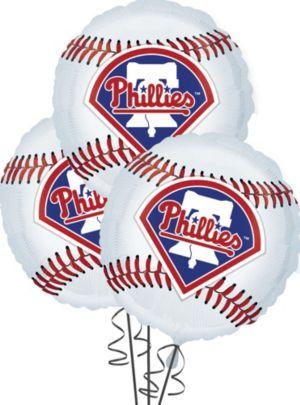 Philadelphia Phillies Balloons 18in 3ct