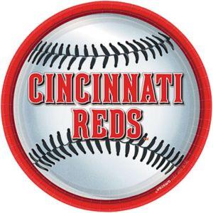 Cincinnati Reds Lunch Plates 18ct