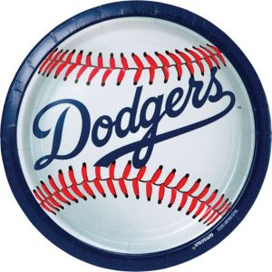 Los Angeles Dodgers Lunch Plates 18ct