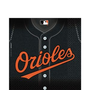 Baltimore Orioles Lunch Napkins 36ct