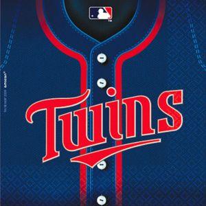 Minnesota Twins Lunch Napkins 36ct