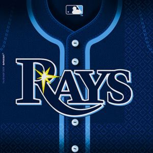 Tampa Bay Rays Lunch Napkins 36ct