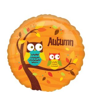 Autumn Balloon - Owls